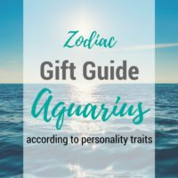 gifts for aquarius guide