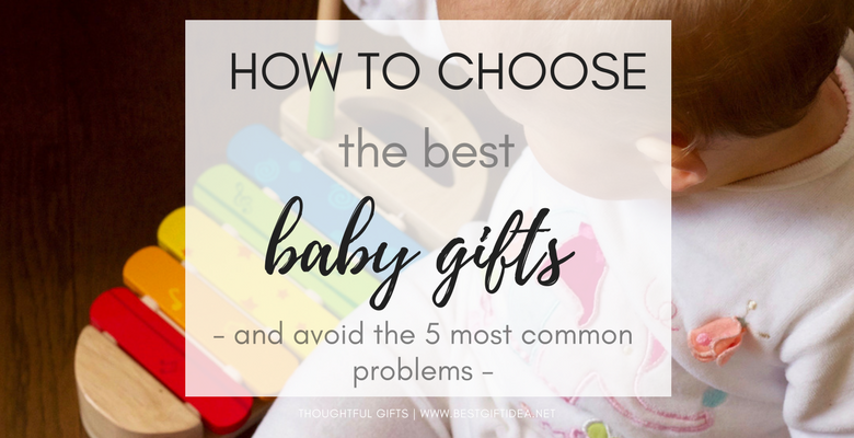 how to choose the best baby gifts for baby shower