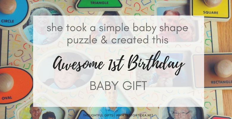 awesome diy 1st birthday baby gift