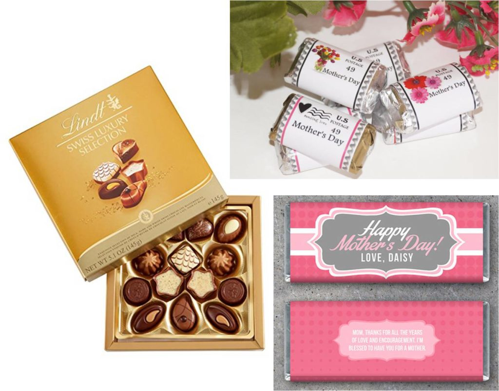 mothers day personalized chocolate