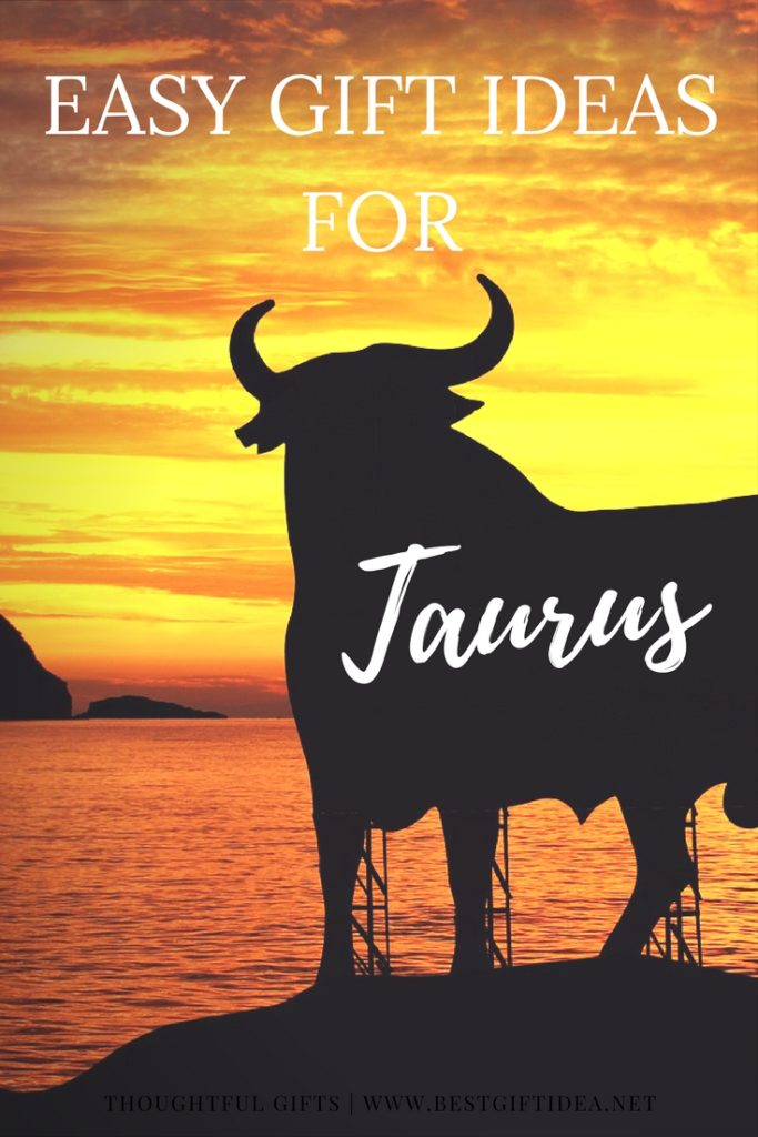 EaSY GIFTS FOR TAURUS