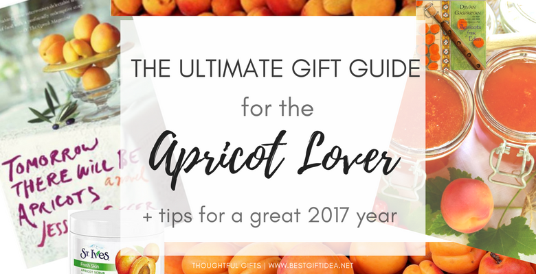 gifts for apricot lovers