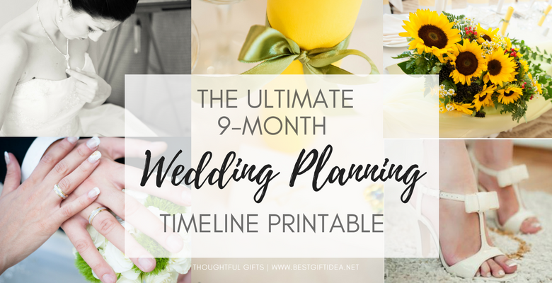 the ultimate wedding planning timeline free printable template