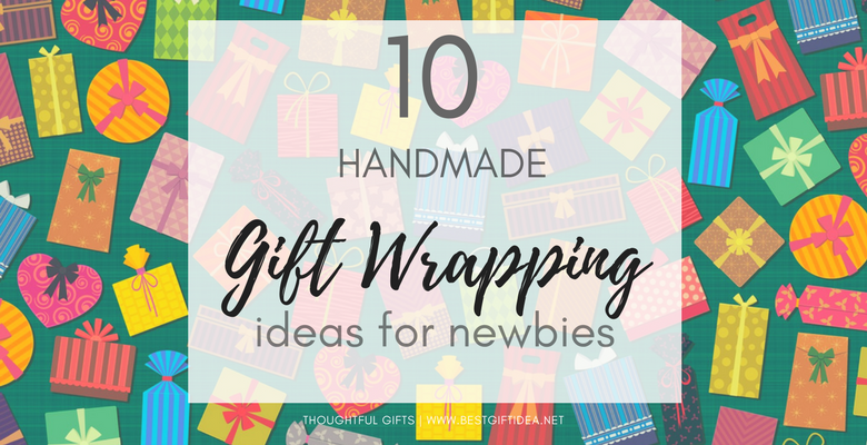 10 handmade gift wrapping ideas even if not skilled