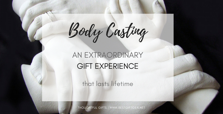 body casting gift experience that lasts lifetime gift for new mom