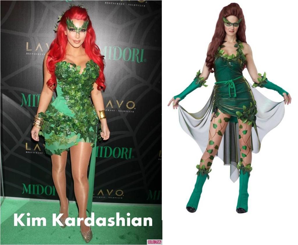 celebrities Halloween costumes inspirational idea by Kim Kardashian