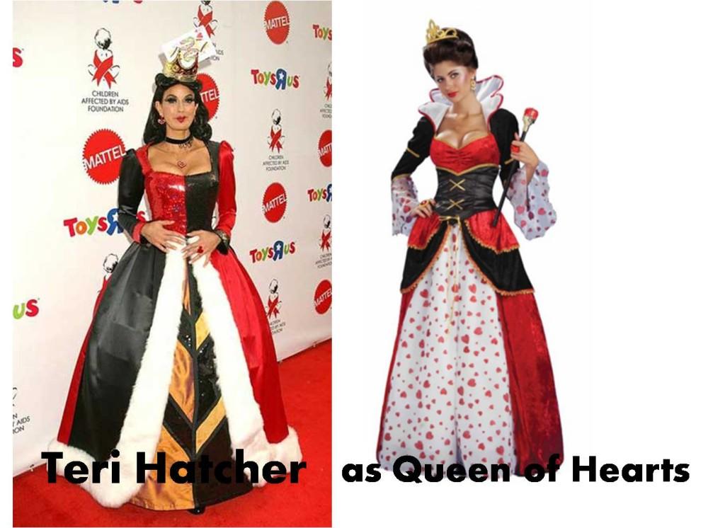 celebrities Halloween costumes inspirational idea by Terri Hatcher