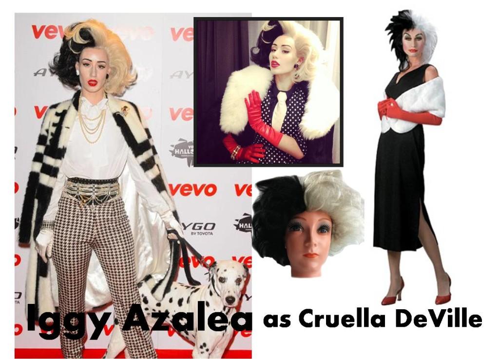 celebrities Halloween costumes inspirational idea by Iggy Azalea