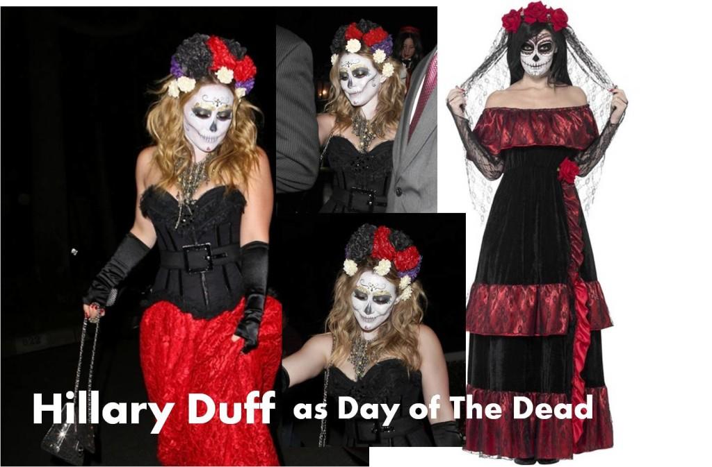 celebrities Halloween costumes inspirational idea by Hillary Duff