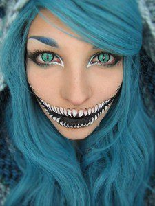 halloween scary make up