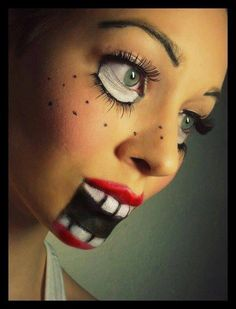 halloween make up idea for her