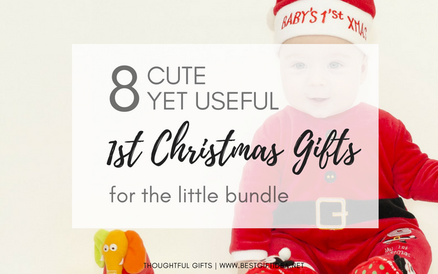 1st christmas baby gift for the little bundle