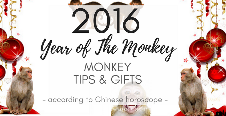 YEAR OF THE MONKEY 2016 GIFTS FOR NEW YEAR