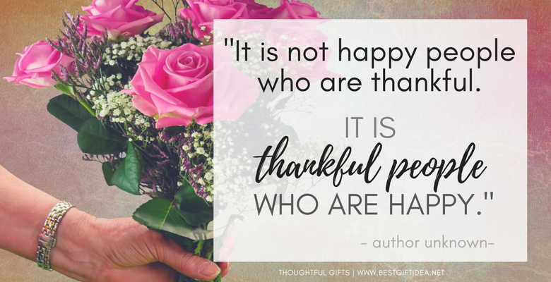 INSPIRATIONAL THANK YOU QUOTES FOR THANKSGIVING AND JANUARY THANK YOU MONTH