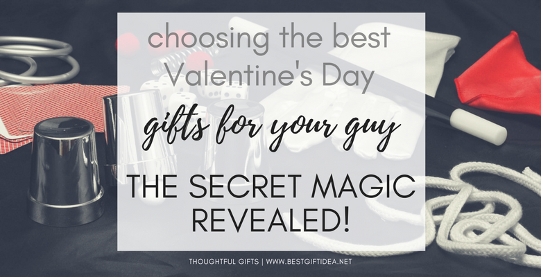 choosing the best valentines day gifts for him according to personality type