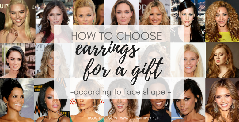 how to choose earrings gifts according to face shape