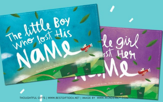 GIFT FOR A KID CHILD BOOK LOST MY NAME