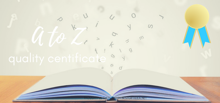 things to do on Valentines day a to z certificate