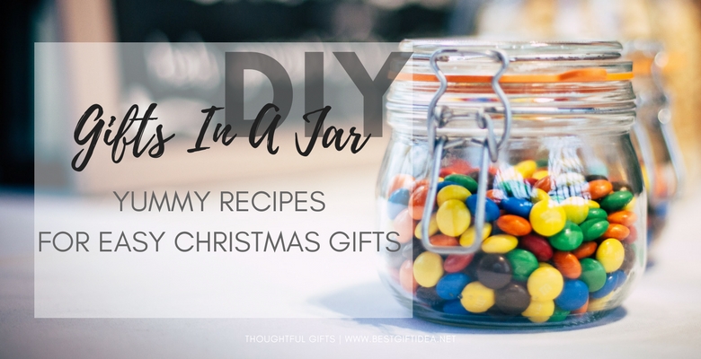 yummy gifts in a jar recipes