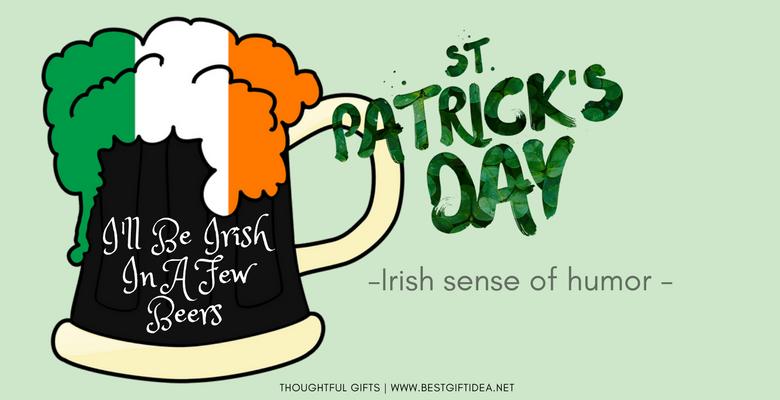 st patricks day irish sense of humor