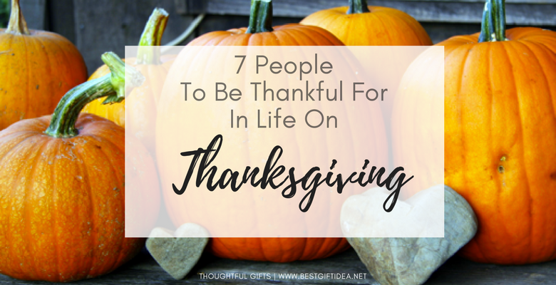 thanksgiving people to thank to