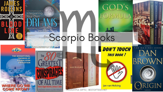 book gifts for scorpio