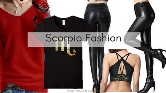 Scorpio gifts fashion Clothes