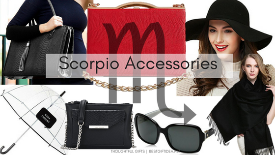 Scorpio accessories gift ideas