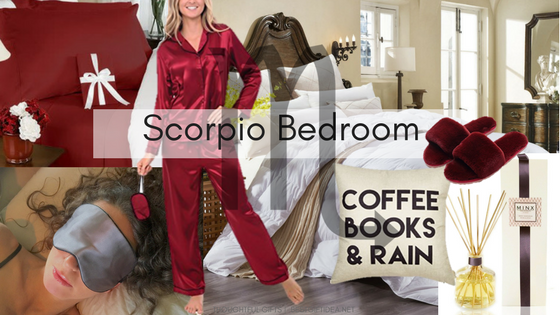Scorpio Gifts for Bedroom