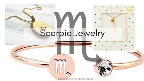 jewelry gifts for Scorpio