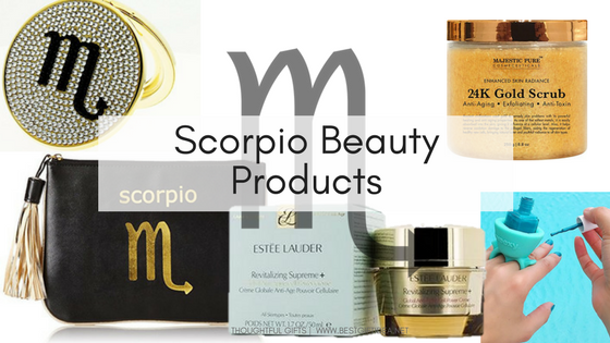 Scorpio beauty gifts