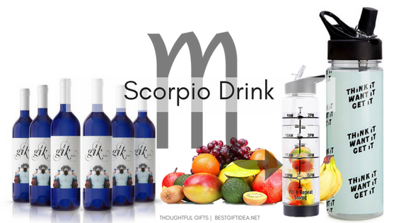 Scorpio gifts drink gifts