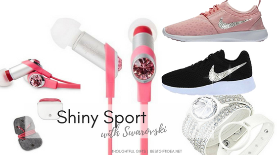 sporty swarovski gifts with crystals