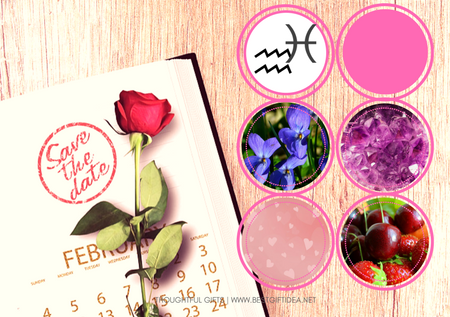 February Birthday Gifts & Days To Celebrate in February 1-10th