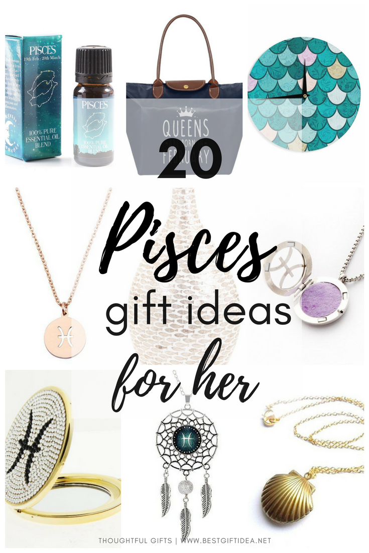 20 Awesome Pisces Zodiac Sign Gifts For Women Super Thoughtful Gift Ideas