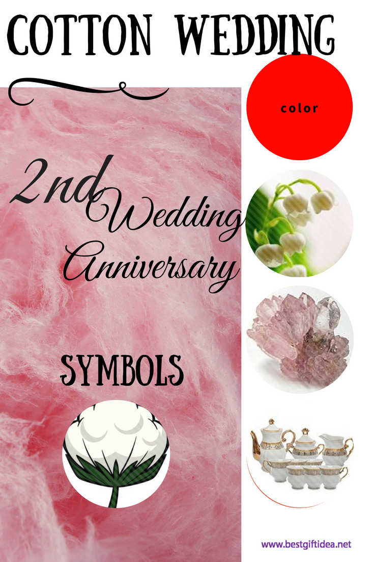 Best Gift Idea Second Wedding Anniversary Gift Guide